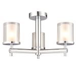 Endon Britton 51886 3 Light Chandelier