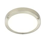 Endon Portico 54675 LED Satin Nickel Wall/Ceiling Light