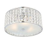 Endon Belfont 61252 Crystal Ceiling Light