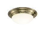 Dar Barclay Antique Brass Large Ceiling Light