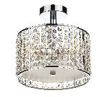 Dar Rhodes 3 Light Chandelier