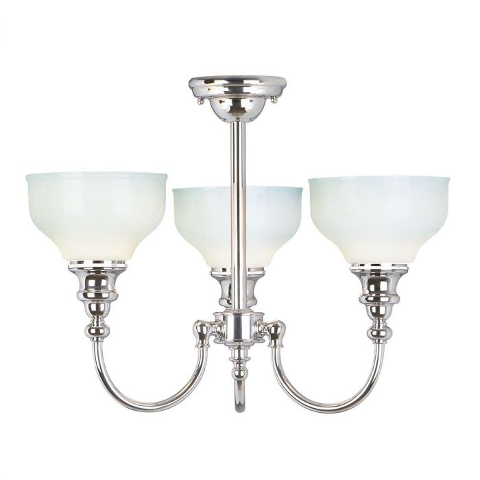 Elstead Cheadle 3 Light Chandelier