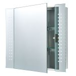 Endon Revelo LED Bathroom Cabinet with Shaver Socket